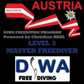 DIWA MASTER FREEDIVER - Level 3