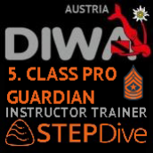 DIWA/STEPDIVE INSTRUCTOR TRAINER